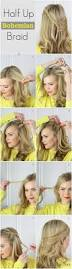easy half up braided bohemian hairstyles for long hair