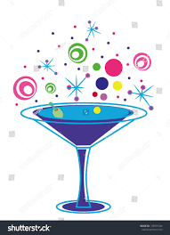 martini olive clipart fun cocktail glass olive on white stock vector 135075104