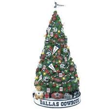 dallas cowboys christmas tree the danbury mint