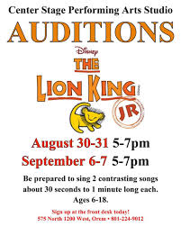 for the king jr center stage performing arts studio