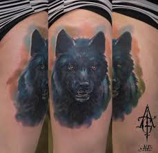 black wolf by agat artemji best ideas