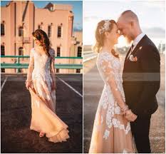 online get cheap vintage style wedding dress with sleeves