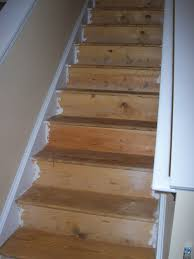 pictures of hardwood stairs