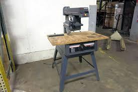 Craftsman Radial Arm Saw Table Lot 2 Sear Craftsman 10
