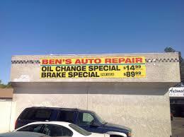 lexus mechanic las vegas ben u0027s auto repair 14 95 oil change u0026 89 95 brake repair las vegas