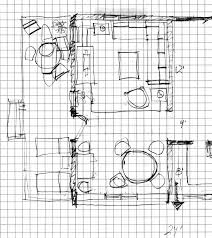 floor plan rendering drawing hand grid loversiq