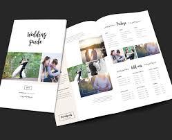 wedding brochure template wedding photographer brochure template
