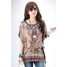 print blouses bohemian style fashion floral print blouse amboo markt store