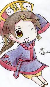 aph halloween china coloured by pammy01251 on deviantart
