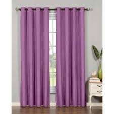 Plum Blackout Curtains Purple Curtains U0026 Drapes Window Treatments The Home Depot