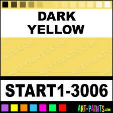 dark yellow artist oil paints start1 3006 dark yellow paint