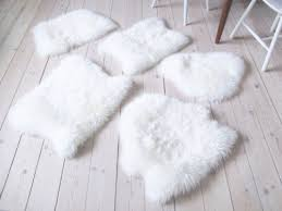 fur chair cover diy ikea sheep skin hack into chair covers shelterness