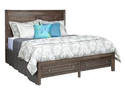 Low Profile Furniture by Kincaid Furniture Montreat King Border U0027s Platform Bed With Two