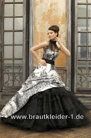 brautkleider schwarz wei hochzeitskleid schwarz weiss