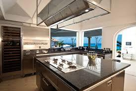 grande cuisine avec ilot central decoration cuisine avec ilot central cuisine en image