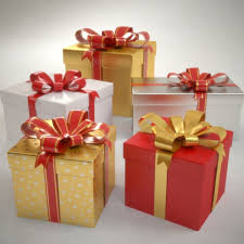 gift boxes 3d model gift boxes set christmas presents cgtrader