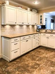 staining oak kitchen cabinets white bye bye honey oak kitchen cabinets hello brighter kitchen