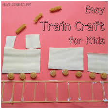 fine motor activities easy train craft for kids the inspired