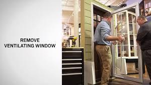 storm door window replacement ventilating window replacement on andersen full lite self storing