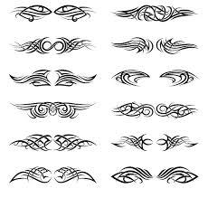 tribal tattoos graphics creative market