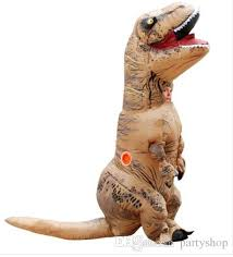 Halloween Costumes China Inflatable Dinosaur Rex Costume Blowup Dinosaur Halloween