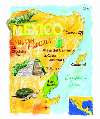 Akumal Mexico Map by Spring Break In Tulum My Little Pudding