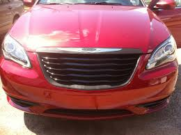 old chrysler grill plasti dipping front grille