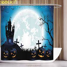 aliexpress com buy stylish shower curtain halloween decorations