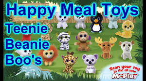 2017 mcdonalds teenie beanie boo u0027s ty happy meal toys 15