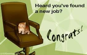 Congrats On New Job Card Congrats On New Job Free New Job Ecards Greeting Cards 123