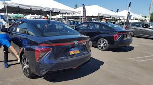 what car toyota back to the future u2013 driving the toyota mirai hydrogen fuel cell