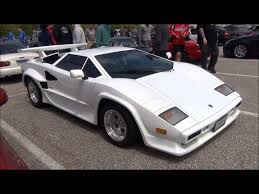 lamborghini countach replica replica lamborghini countach 5000 s youtube