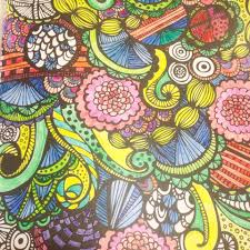 the year of the coloring book coloring with inktense