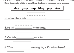 1st grade writing worksheets u0026 free printables page 4 education com