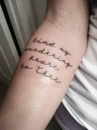 best 25 forearm script tattoo ideas on pinterest inside ear
