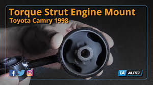 2004 toyota camry motor mount how to replace install torque engine mount 1997 01 toyota camry