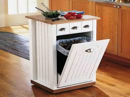 kitchen island trash bin ideas for build mobile kitchen island cabinets beds sofas and