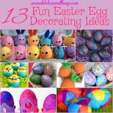 13 Fun Easter Egg Decoration Ideas Crafty Morning
