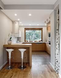 table cuisine design cuisine en u ouverte pour tout espace 60 photos et conseils