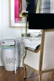 desk splendid hide cables on desk for your house desk furniture