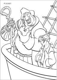 captain amelia deck coloring pages hellokids