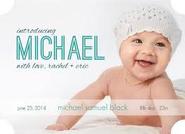 birth announcements birth announcement wording for baby boys