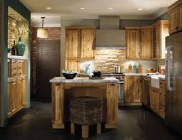cabinet remodeled hickory kitchen stunning hickory cabinets