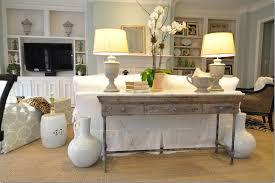 sofa table behind couch console tables decorating console table behind couch decorate