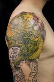 tiger and dragon tattoos jpg 1 200 1 800 pixels daddy tat ideas
