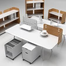 Office Set Design Set Furniture Vitra 3d Model