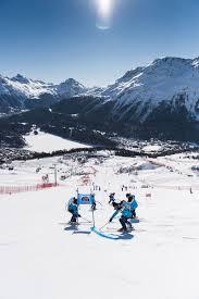 voluntaris skiservice corvatsch st moritz engadin