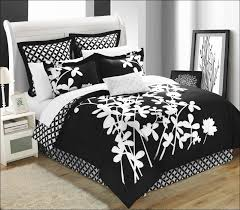 Black And White Queen Bed Set Bedroom Marvelous Black And White Bedspreads And Comforters