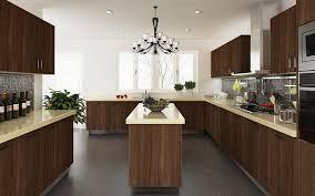 kitchen cabinet design kenya kenya project modern wood grain pvc kitchen cabinet