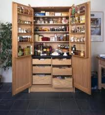 Kitchen Pantry Cabinets Brilliant Best 25 Free Standing Pantry Ideas On Pinterest For